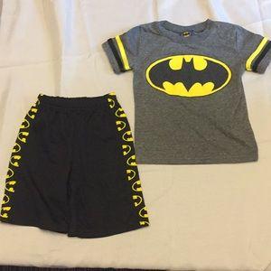 Batman Shorts and T Shirt Set